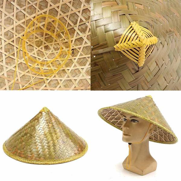 bamboohat, Fashion, ricehat, Cap