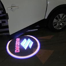 ghost, led car light, carshadowlogolight, Door