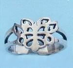 butterfly, Sterling, adjustabletoering, Jewelry