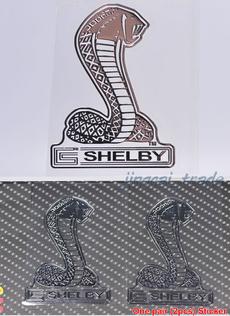 Cobra, Emblem, shelby, chrome
