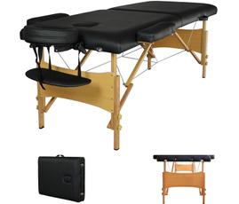 Tables, massagetable, black, Massage