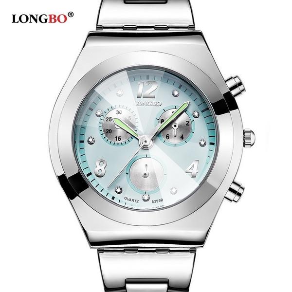 Steel, DIAMOND, Waterproof, wristwatch