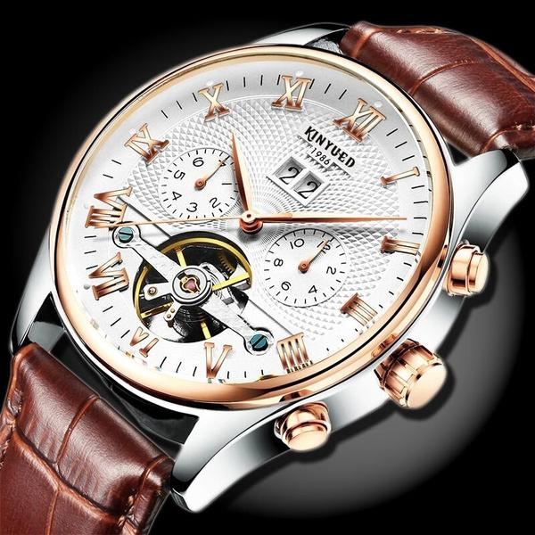 tourbillon mechanical watch