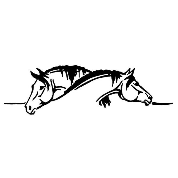 Funny, horse, carstyling, cardecor