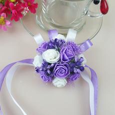 weddingparty, Moda masculina, handflower, Joyería de pavo reales