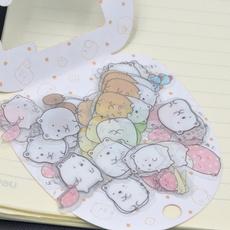 cute, paperlabel, Stickers, multicolor