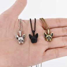 Choker, Jewelry, frenchbulldognecklace, Pets