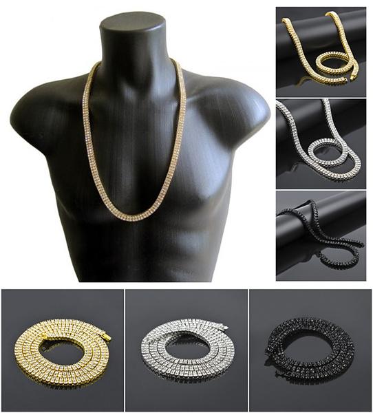 Chain Necklace, DIAMOND, icedoutchain, Chain