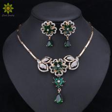Flowers, Jewelry, Earring, Crystal