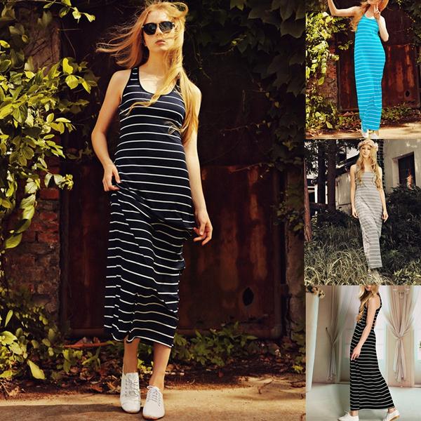 Summer, maxi summer dresses, Necks, Dress