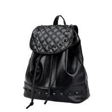 black backpack, Fashion, Bags, adjustablebelt