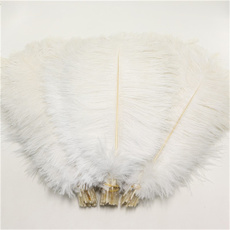 fluffy, plume, decoration, 10pcsostrichfeather