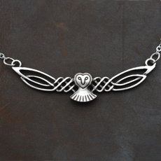 Owl, Celtic, owl jewelry, Elegant