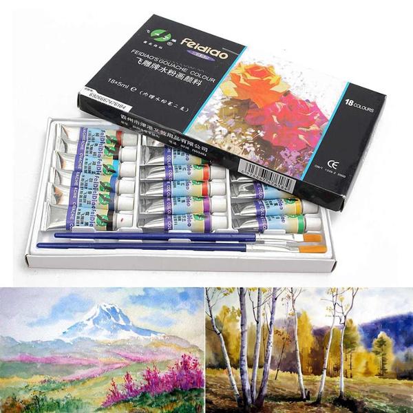 ballpoint pen, rainbow, officeampschoolsupplie, painttube