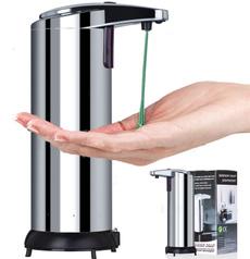 Steel, soapdishesdispenser, Stainless Steel, Bath