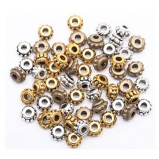 Flowers, beadsforbracelet, Ювелірні вироби, gold