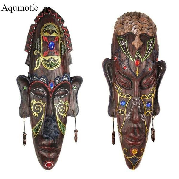 Decor, stickeronthewall, art, africanmaskforwalldecor