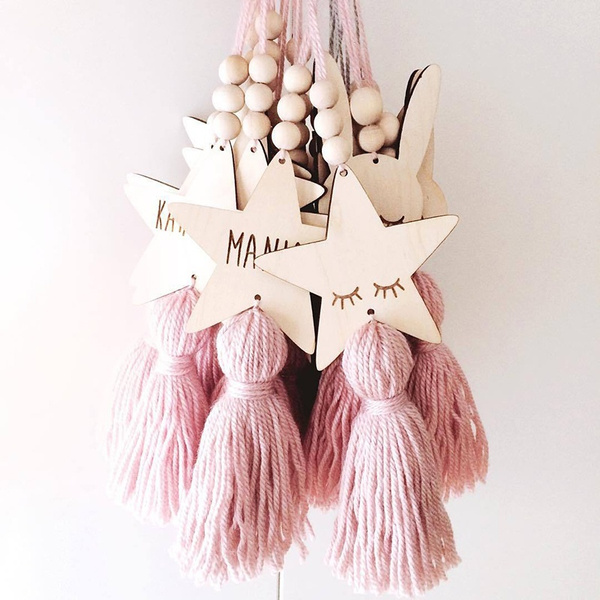 cute, Tassels, Star, Home Decor