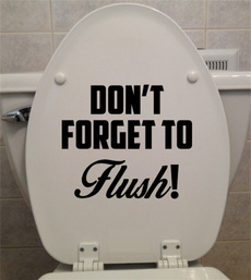 toiletdecal, Bathroom, bathroomdecor, funnytoiletdecal