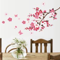 peachwallsticker, PVC wall stickers, Flowers, Home Decor