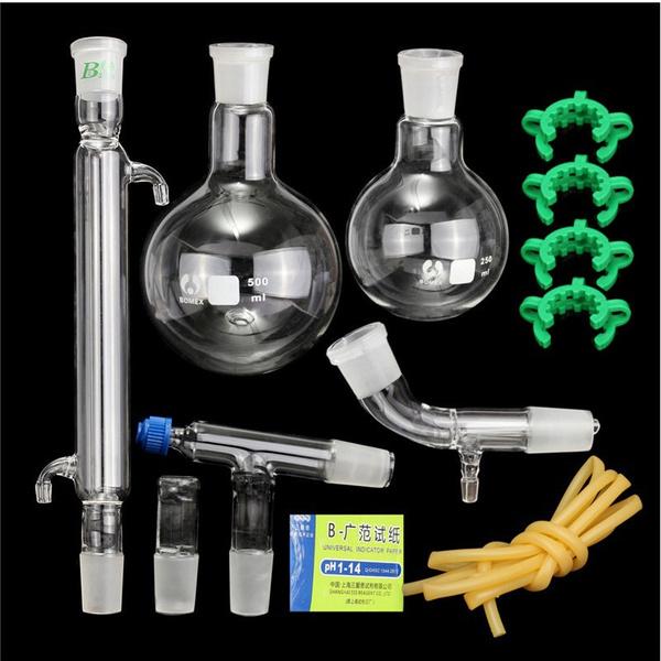 distillationapparatu, distillationkit, laboratorysupplie, labamplifescience