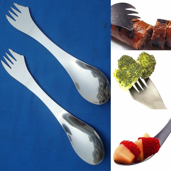Forks, Steel, sporkspoon, Outdoor