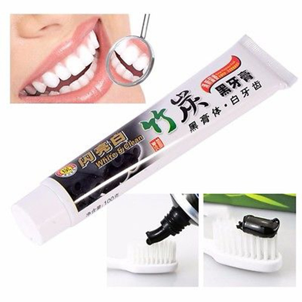 Charcoal, teethwhitening, Healthy, Toothpaste