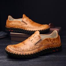 Flats, Fashion, England, leather shoes
