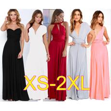 Summer, Fashion, Halter, gowns