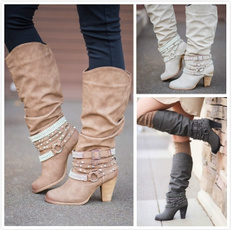 Design, Fashion, long boots, Womens Shoes