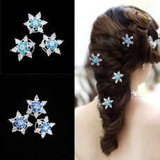 Princess, Snowflakes, Rhinestone, spiral