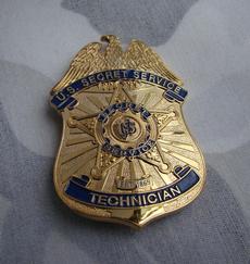 Copper, bodyguard, metalbadge, theunitedstate