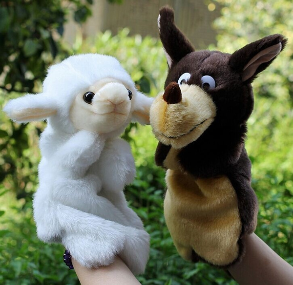 Sheep, plushpuppet, Toy, doll