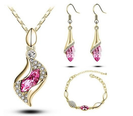 arete, Fashion, Crystal Jewelry, rose gold