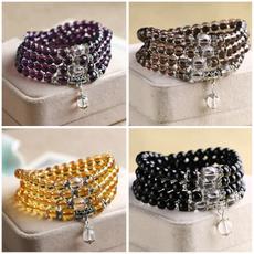 Jewelry, thecouple, obsidian, Bracelet
