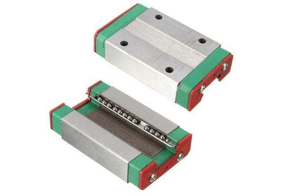 Steel Sliding Block for MGN12H Linear Guide CNC XYZ DIY 43x26x10mm Tool Kit
