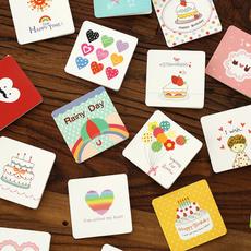 messagecard, Mini, thankyoucard, Gift Card