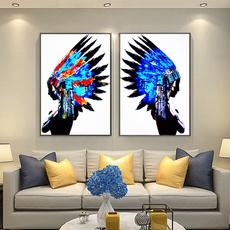 Blues, bluefeather, art, nativeamerican