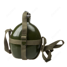 Chinese, Army, waterbottle, kettle