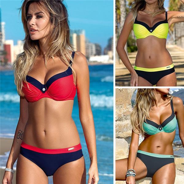 Summer, Fashion, brazilianmaillot, bikini set