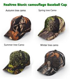 Outdoor, Hunting, Cap, Tree