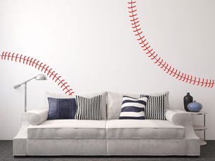 baseballstiching, Decor, Home Decor, Home & Living