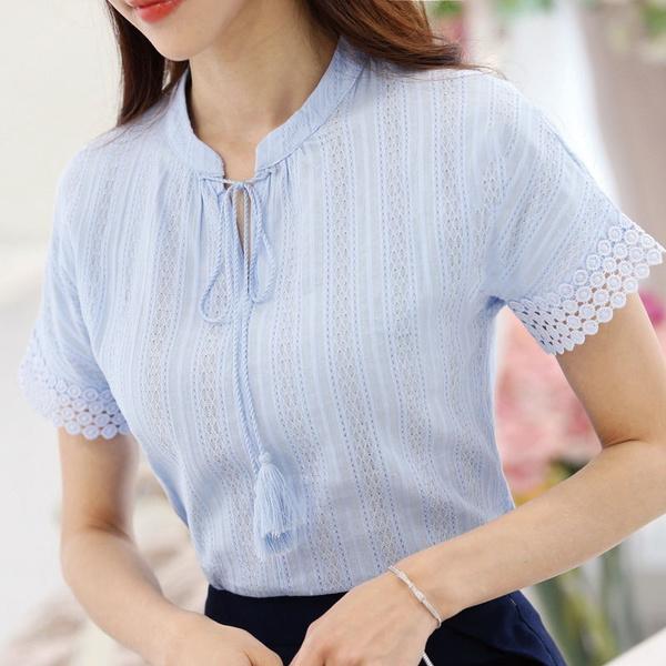 blouse, Summer, Fashion, white tops