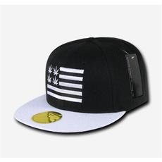 black, headwear, Apparel, white