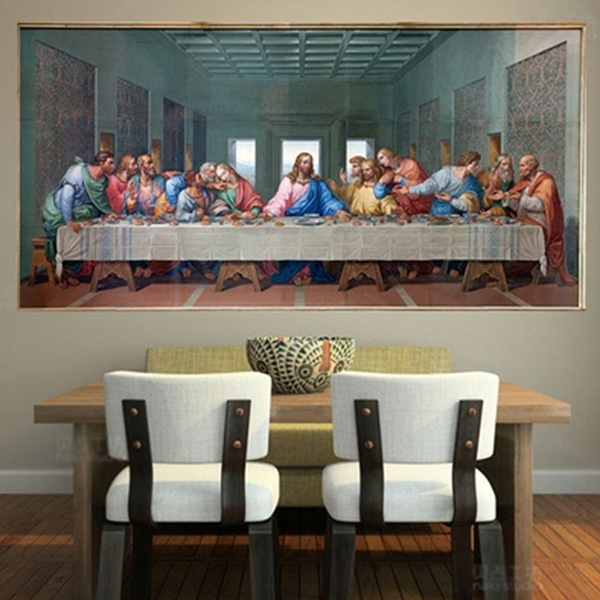 thelastsupper, art, canvaspainting, wallpicture