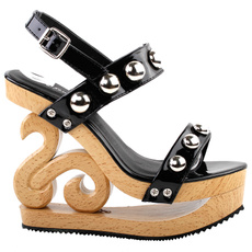High Heel Shoe, sexy shoes, Jewelry, Wooden