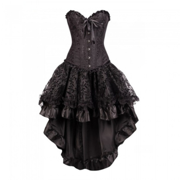 Goth, burlesquecostume, Costume, corsetwithskirt