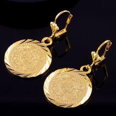 14kgoldfilledhoopearring, Hoop Earring, Bijoux, gold