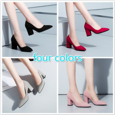 Slip-On, Office, Womens Shoes, Spring