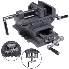 crossdrillpressvise, Manufacturing & Metalworking, Tool, Metal